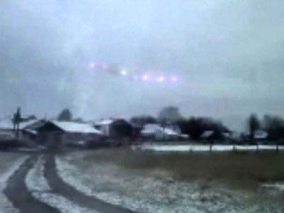 2011目击UFO事件 外星人露真面孔