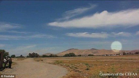 智利上空出现不明飞行物 飞行时速达4千英里