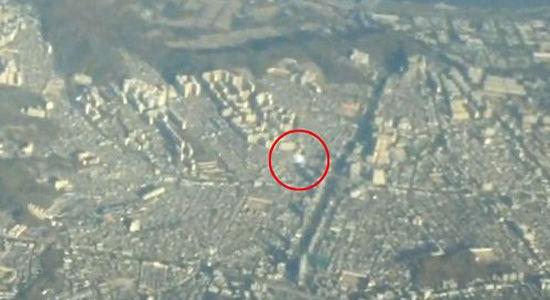 网上流传韩国客机空中遇UFO视频引争议
