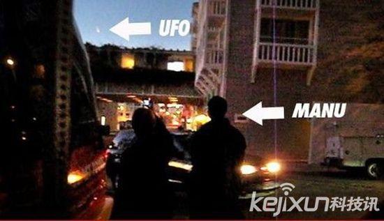 NBA球星吉诺比利目击UFO 球迷上传视频证实