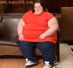 全英最胖青少年:17岁花季少女重达254公斤(图)