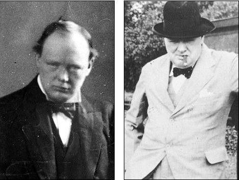 不知是不是丘吉尔眼歪嘴斜的相貌帮助他战胜了希特勒