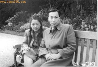 清华新闻网上还挂着何泽慧与钱三强的合影