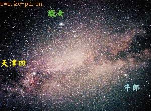 明日七月初七七夕节 牛郎星织女星天上相望