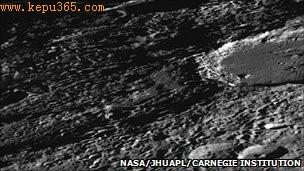 """这说明在水星""""一生""""中的大部分时间,它上面的火山活动都很活跃"""