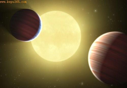 """开普勒望远镜发现三颗行星""""凌日""""同一恒星"""