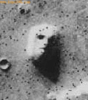 这就是1976年那张著名的火星人脸照片,它引发的火星文明风波臭名昭著