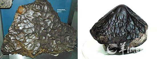 陨石是流星燃烧后的结果
