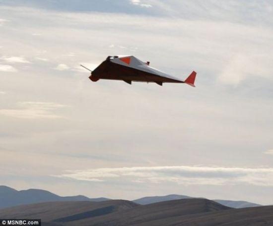 艺术概念图,展现了Near Space公司研制的高空飞机