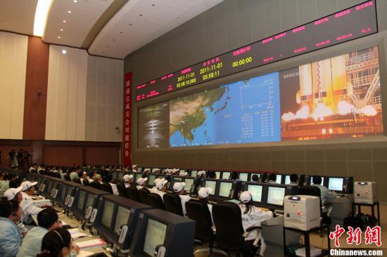 神八进入自主控制 中国首次空间交会对接即将实施