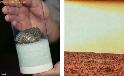 科学家对比分析了碰撞地球的火星陨石和火星岩石样本