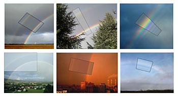 科学家模拟各种彩虹